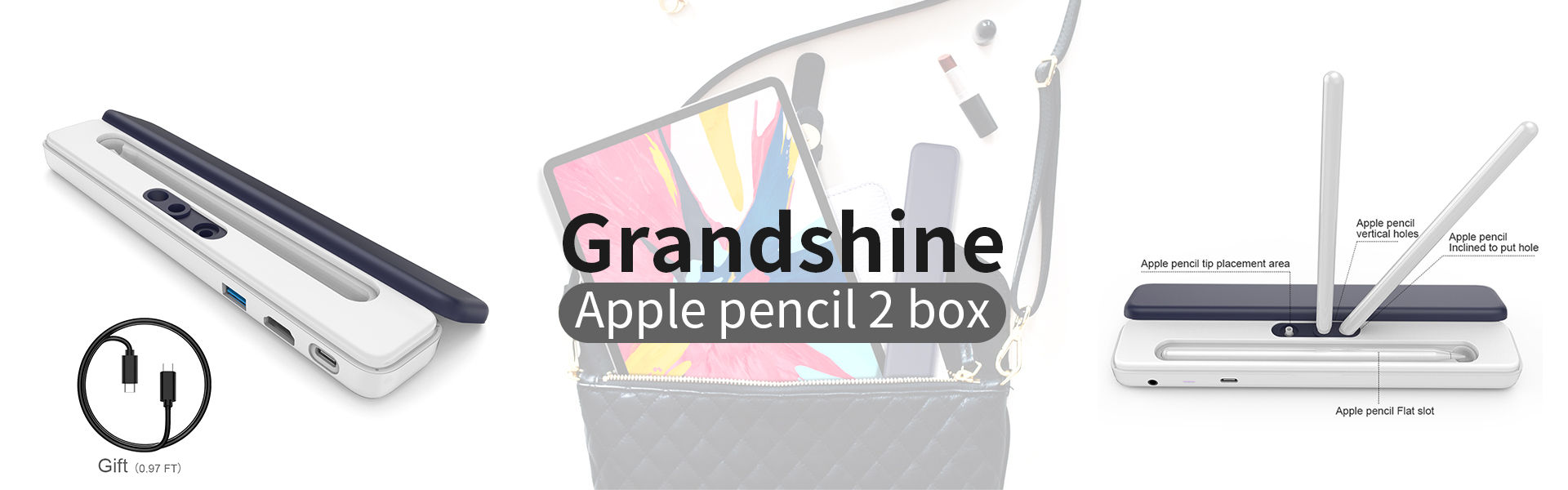 Apple pencil 2 storage box