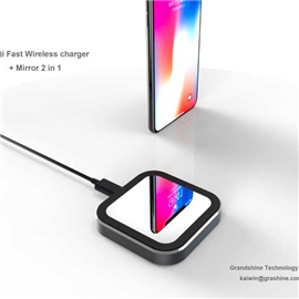 Mirror Qi wireless charger