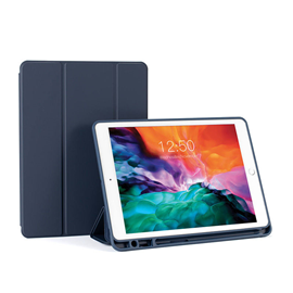 iPad  12.9 inch leather case ( with pencil holder)