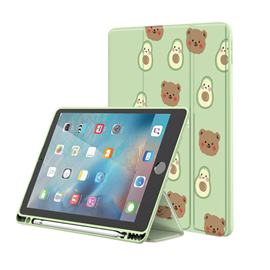 Silky leather case for iPad
